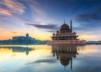 مسجد بوترا في ماليزيا (16)