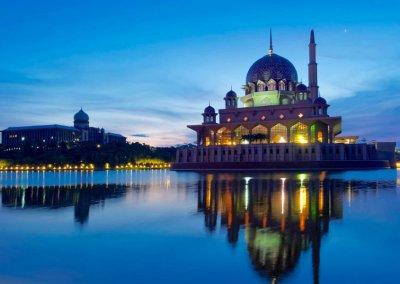مسجد بوترا في ماليزيا (17)