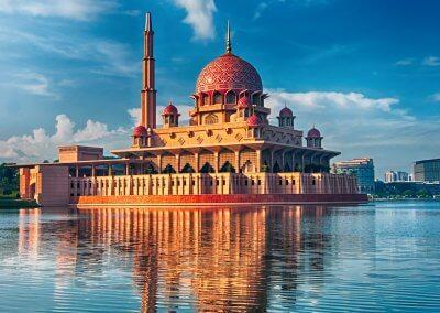 مسجد بوترا في ماليزيا (2)
