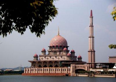 مسجد بوترا في ماليزيا (22)