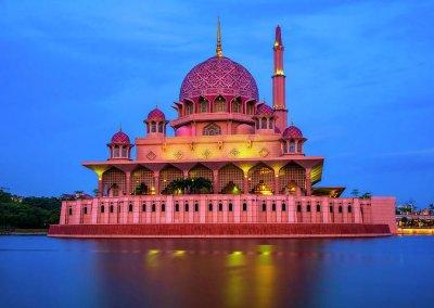 مسجد بوترا في ماليزيا (23)