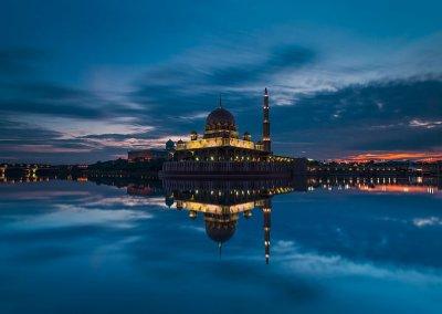 مسجد بوترا في ماليزيا (4)