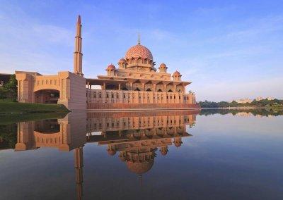 مسجد بوترا في ماليزيا (6)
