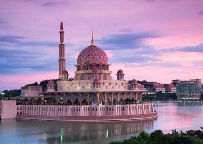 مسجد بوترا في ماليزيا (7)