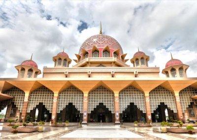 مسجد بوترا في ماليزيا (8)
