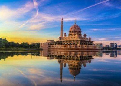 مسجد بوترا في ماليزيا (9)