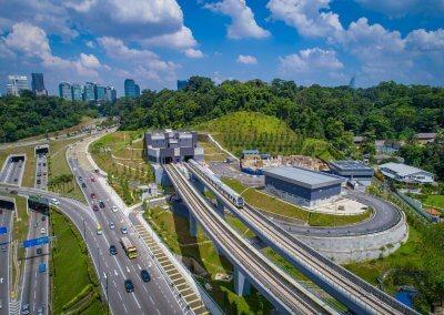 نظره على اول قطار MRT بطول 51 كيلو متر (11)