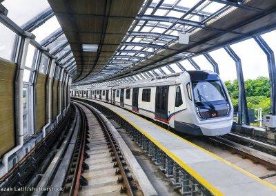 نظره على اول قطار MRT بطول 51 كيلو متر (12)