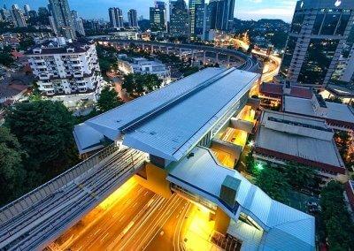 نظره على اول قطار MRT بطول 51 كيلو متر (17)