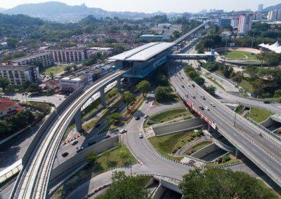 نظره على اول قطار MRT بطول 51 كيلو متر (18)