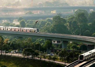 نظره على اول قطار MRT بطول 51 كيلو متر (19)