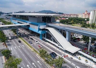 نظره على اول قطار MRT بطول 51 كيلو متر (20)