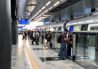 نظره على اول قطار MRT بطول 51 كيلو متر (21)