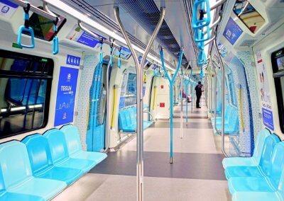 نظره على اول قطار MRT بطول 51 كيلو متر (22)