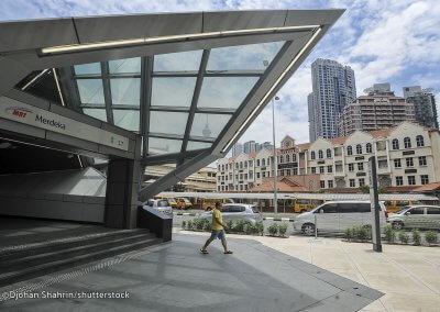 نظره على اول قطار MRT بطول 51 كيلو متر (23)