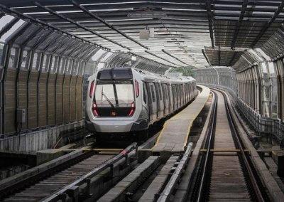 نظره على اول قطار MRT بطول 51 كيلو متر (3)