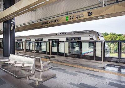 نظره على اول قطار MRT بطول 51 كيلو متر (6)