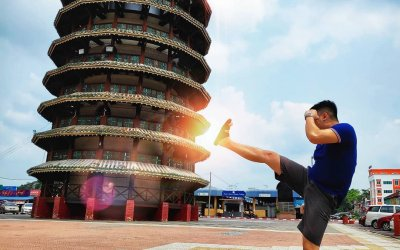 هل تعلم ان ماليزيا لديها برج بيزا المائل ايضا؟