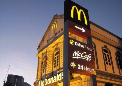 اجمل مبنى لماكدونالدز في ماليزيا (6)