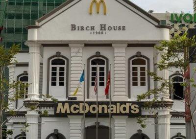 اجمل مبنى لماكدونالدز في ماليزيا (8)