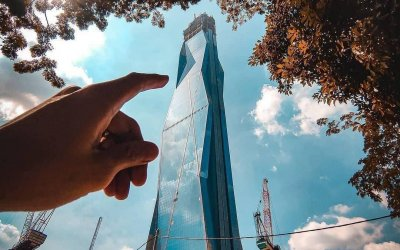 اطول برج تحت الانشاء والثاني على العالم