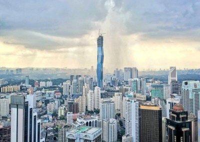 اطول برج تحت الانشاء والثاني على العالم (2)