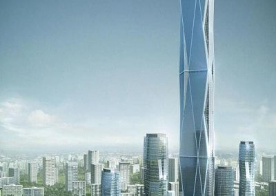 اطول برج تحت الانشاء والثاني على العالم (7)