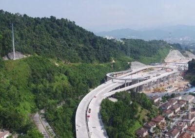 اطول طريق سريع مرتفع في ماليزيا (4)