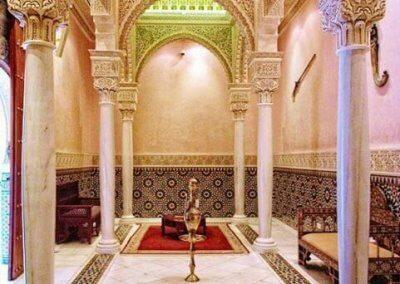 الجناح المغربي في بوتراجايا بماليزيا (1)