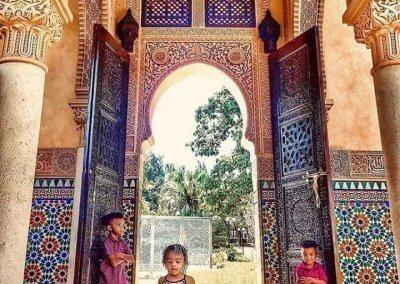 الجناح المغربي في بوتراجايا بماليزيا (15)