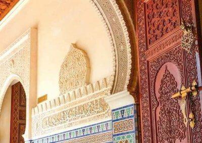 الجناح المغربي في بوتراجايا بماليزيا (16)