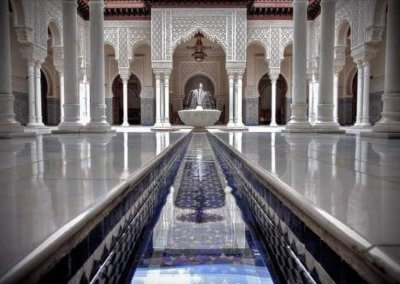 الجناح المغربي في بوتراجايا بماليزيا (17)