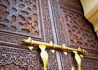 الجناح المغربي في بوتراجايا بماليزيا (2)