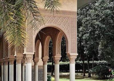 الجناح المغربي في بوتراجايا بماليزيا (21)