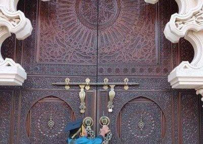 الجناح المغربي في بوتراجايا بماليزيا (29)