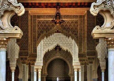 الجناح المغربي في بوتراجايا بماليزيا (3)