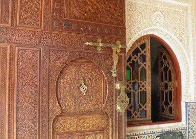 الجناح المغربي في بوتراجايا بماليزيا (31)
