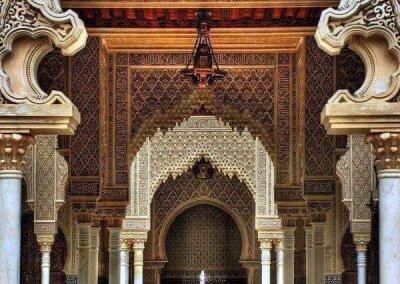 الجناح المغربي في بوتراجايا بماليزيا (32)
