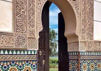 الجناح المغربي في بوتراجايا بماليزيا (33)