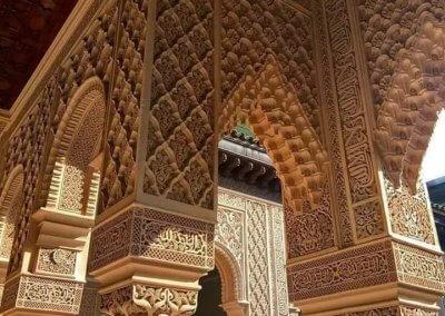 الجناح المغربي في بوتراجايا بماليزيا (34)