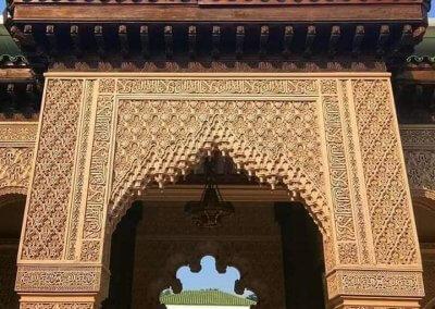 الجناح المغربي في بوتراجايا بماليزيا (35)