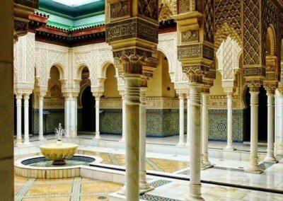 الجناح المغربي في بوتراجايا بماليزيا (4)