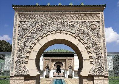 الجناح المغربي في بوتراجايا بماليزيا (40)