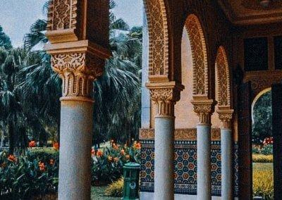 الجناح المغربي في بوتراجايا بماليزيا (45)