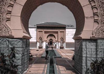 الجناح المغربي في بوتراجايا بماليزيا (47)