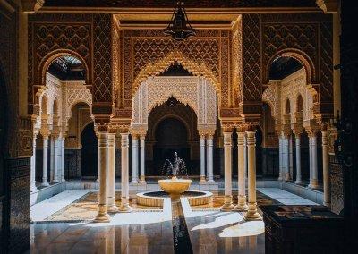 الجناح المغربي في بوتراجايا بماليزيا (48)