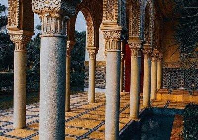 الجناح المغربي في بوتراجايا بماليزيا (49)