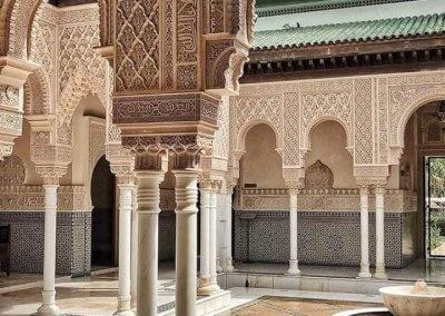الجناح المغربي في بوتراجايا بماليزيا (8)