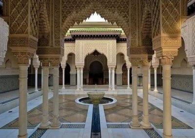 الجناح المغربي في بوتراجايا بماليزيا (9)