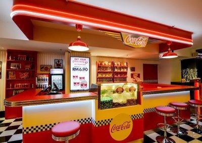 اول مقهى كوكا كولا في العالم